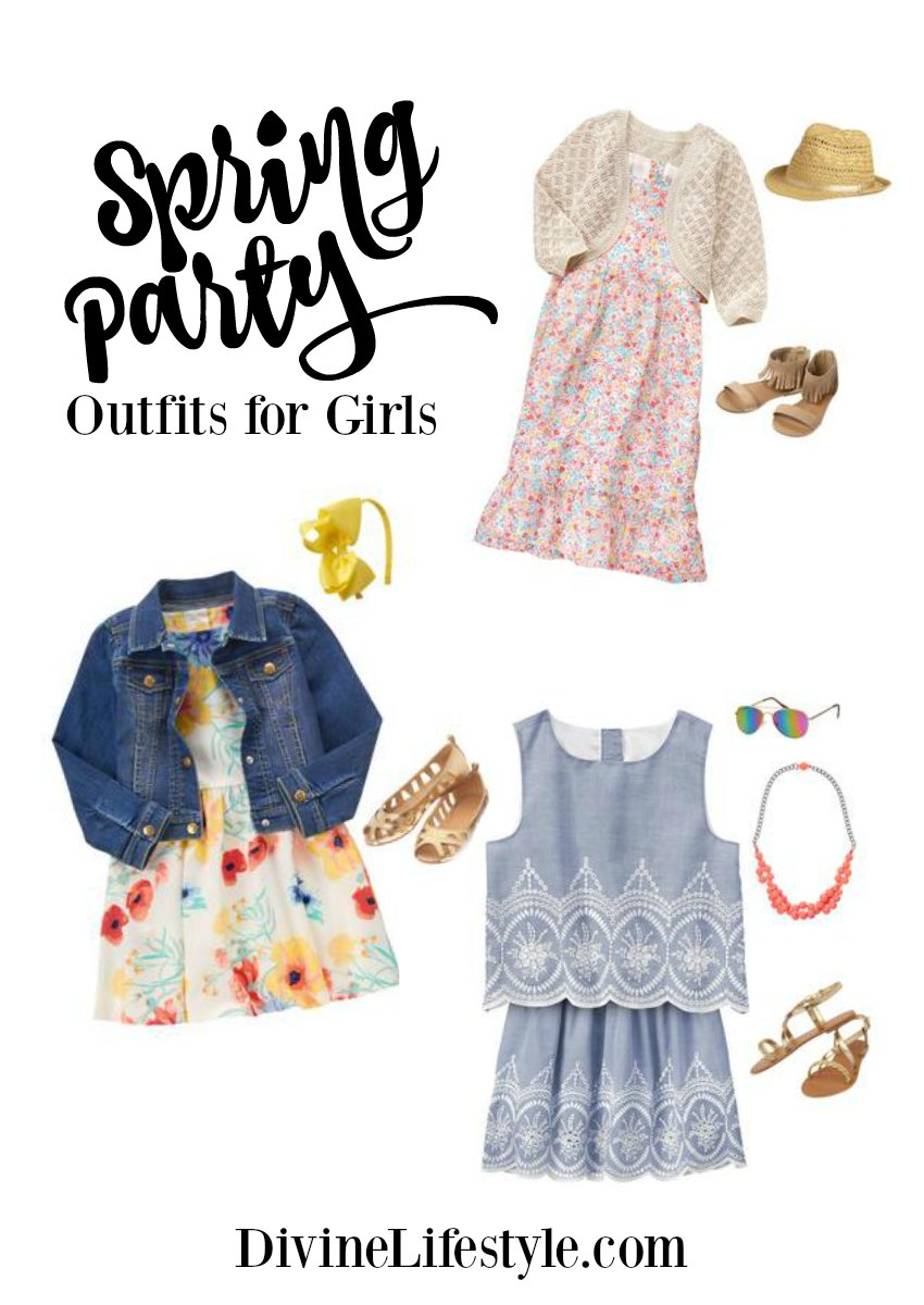 Spring Party Outfits for Girls