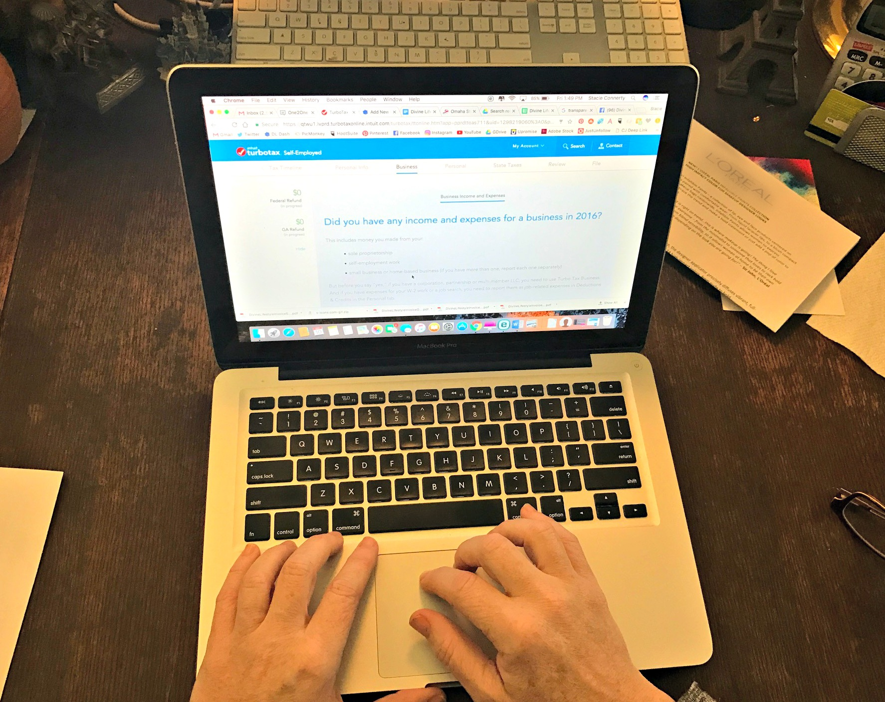 Taxes Made Easy with TurboTax Self-Employed and QuickBooks Self-Employed