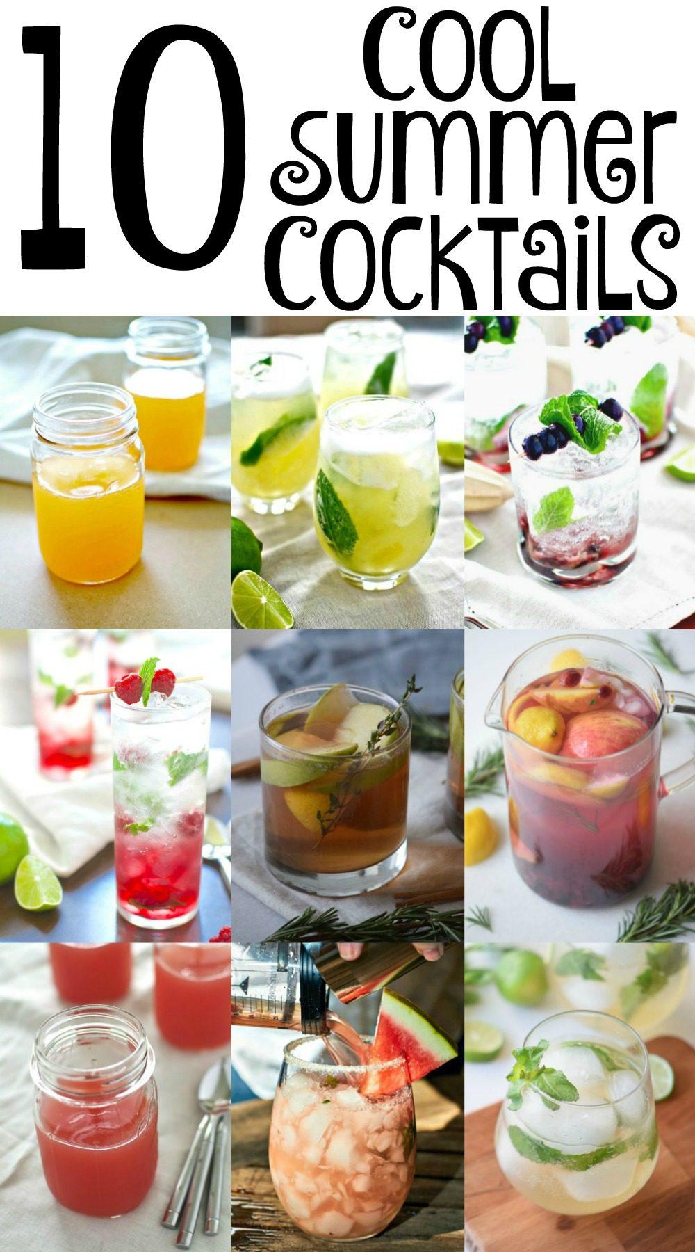 10 Cool Summer Cocktails