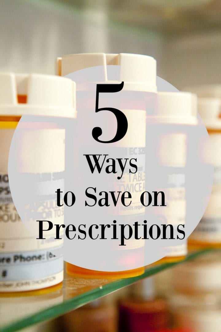 5 ways to save on prescriptions