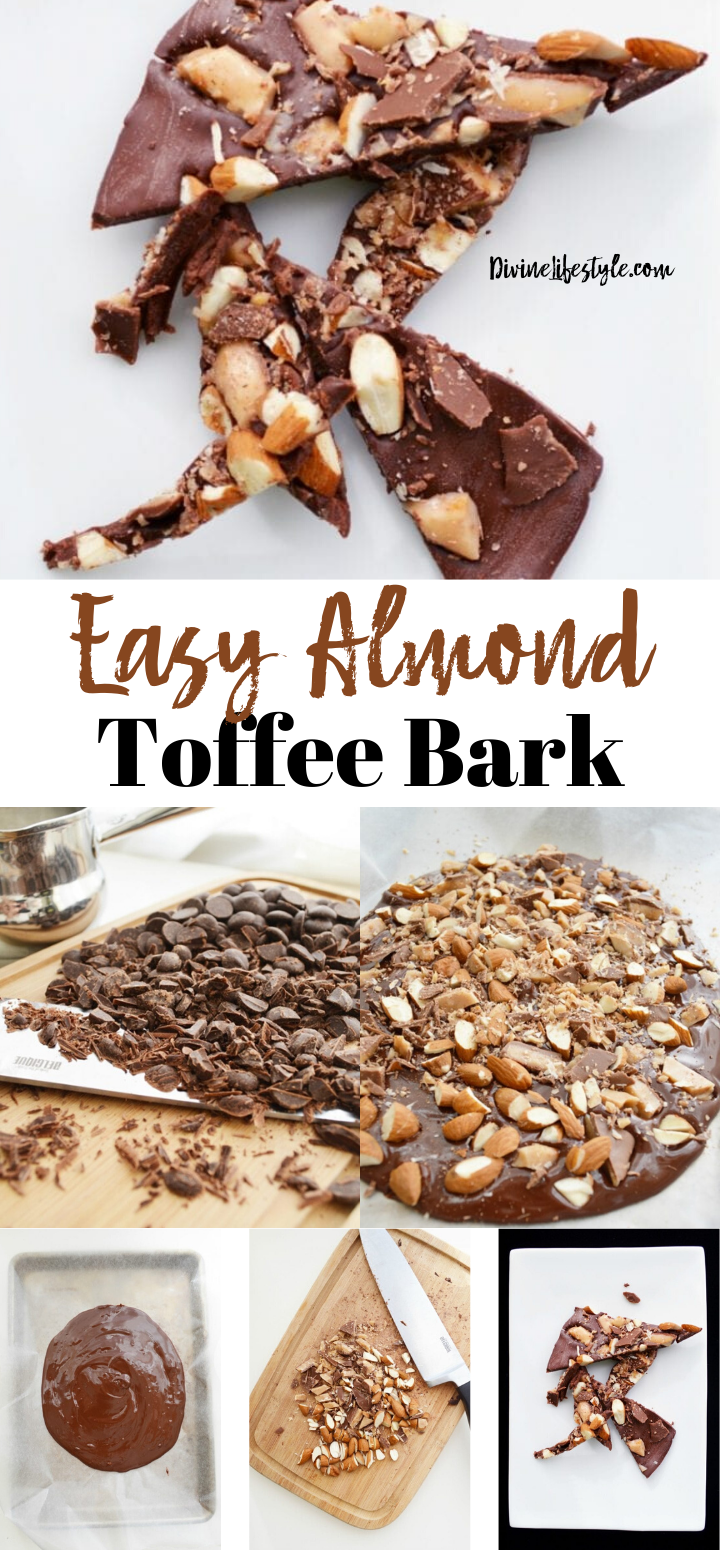 Easy Almond Toffee Bark Recipe