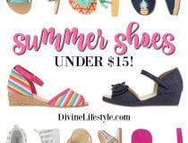 Fun Summer Shoes for Girls - Under $15