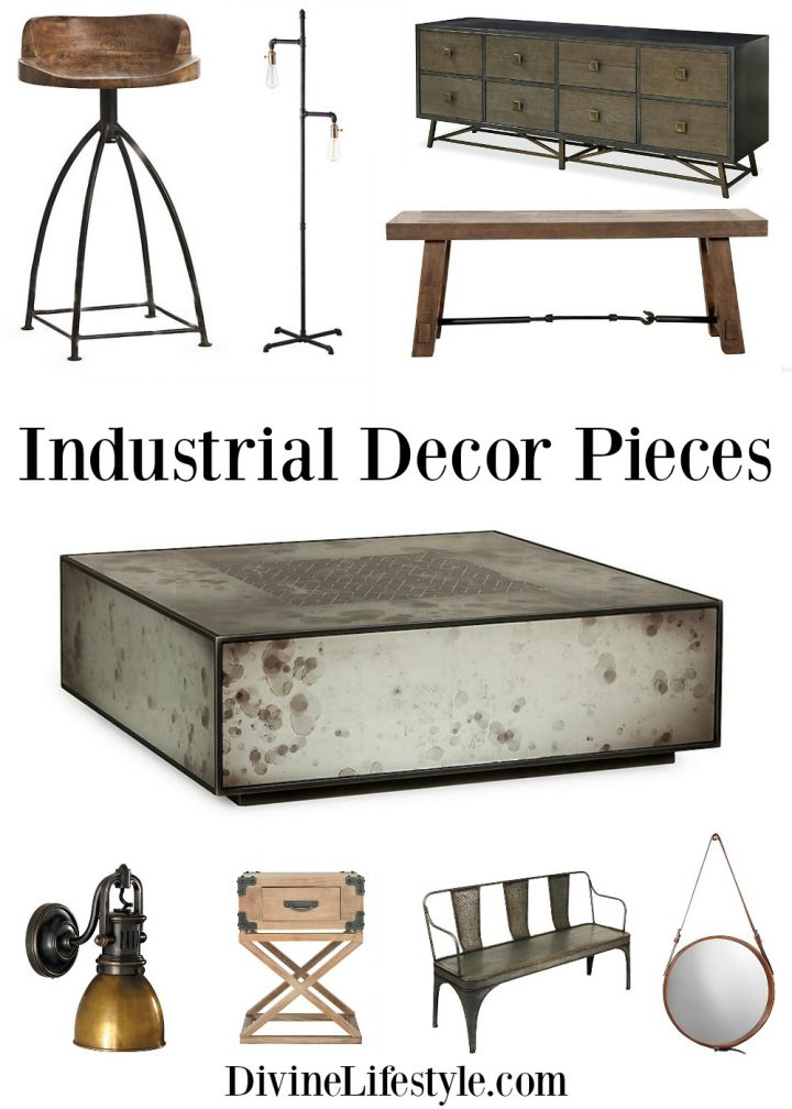 Industrial Pieces for the Home