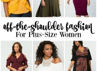 Off-the-Shoulder Fashion for Plus-Size Women
