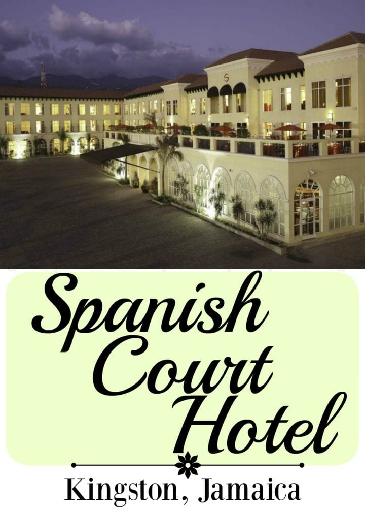 SPANISH COURT HOTEL IN KINGSTON JAMAICA #JAMAICA #HOMEOFALLRIGHT #VISITJAMAICA @VISITJAMAICANOW
