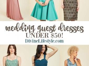 Wedding Guest Dresses Under $50
