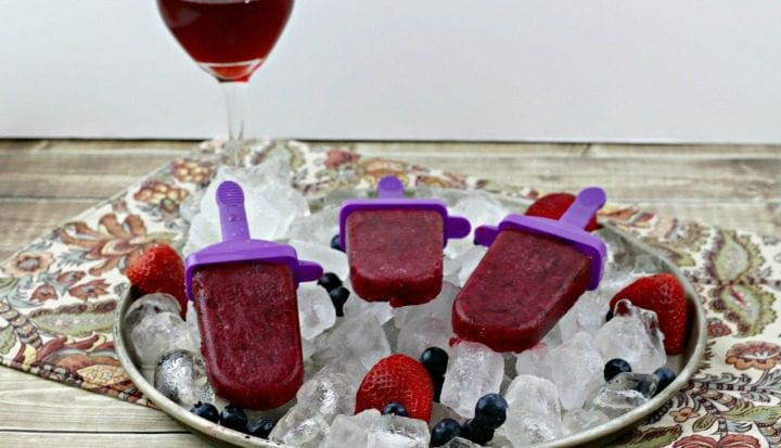 Fruity Sangria Popsicles Recipe 2