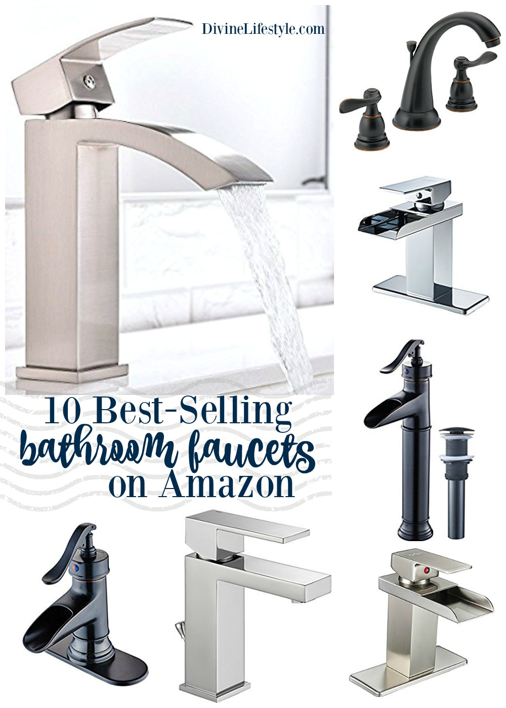 Best Small Bathroom Faucets: 10 Best-Selling Bathroom Faucets On Amazon