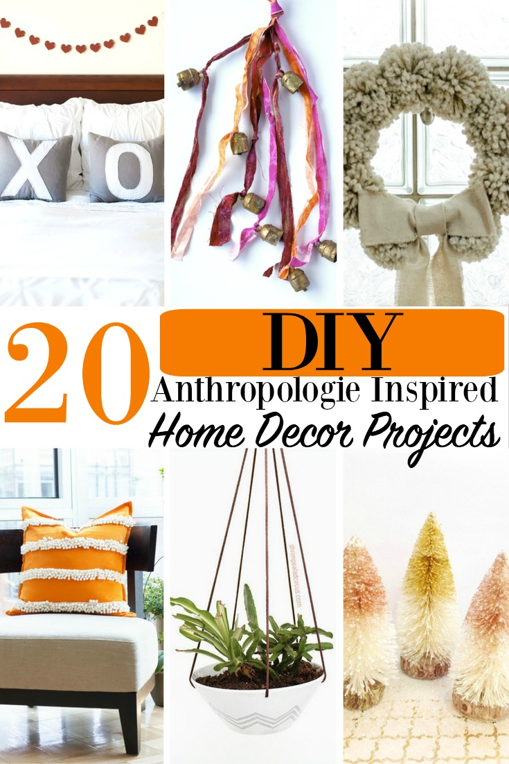 Diy Anthropologie Wall Decor : Diy anthropologie inspired home decor projects