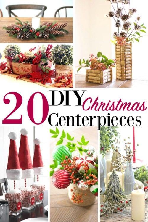 20 DIY Christmas Centerpieces
