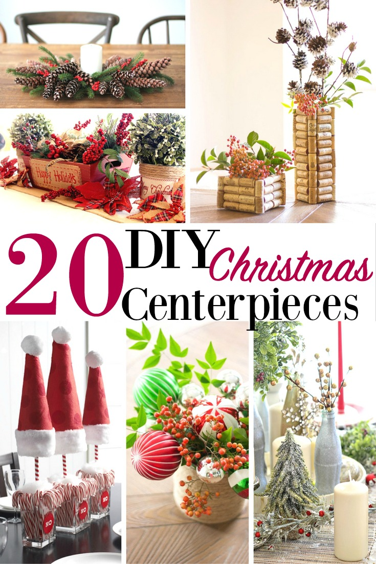 20 diy christmas centerpieces - Diy Christmas Centerpieces