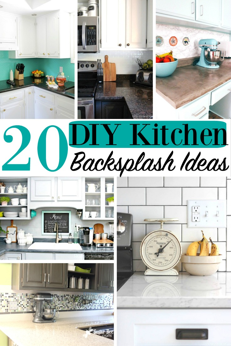 20 Diy Kitchen Backsplash Ideas Home Design Family Decor