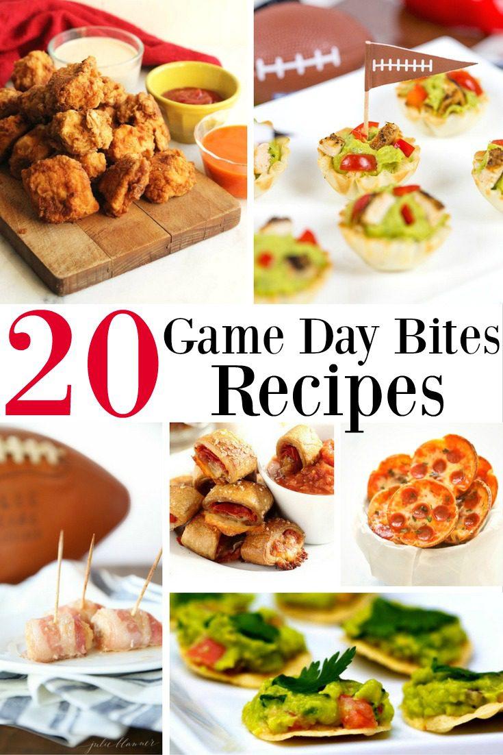 20 Game Day Bites Recipes