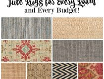 Jute Rugs for Every Room & Every Budget