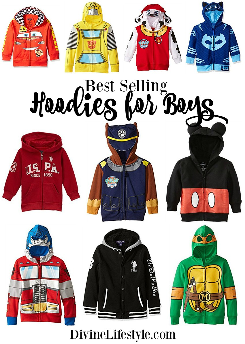 10 Best-Selling Hoodies for Boys on Amazon