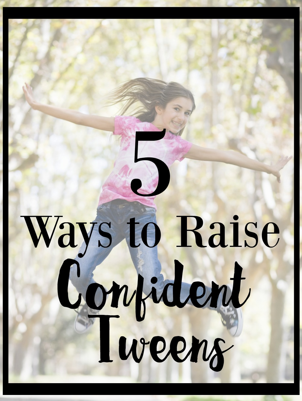 5 Ways To Wear Red Lipstick Like A French Girl: 5 Ways To Raise Confident Tweens Girls Boys No Bullying