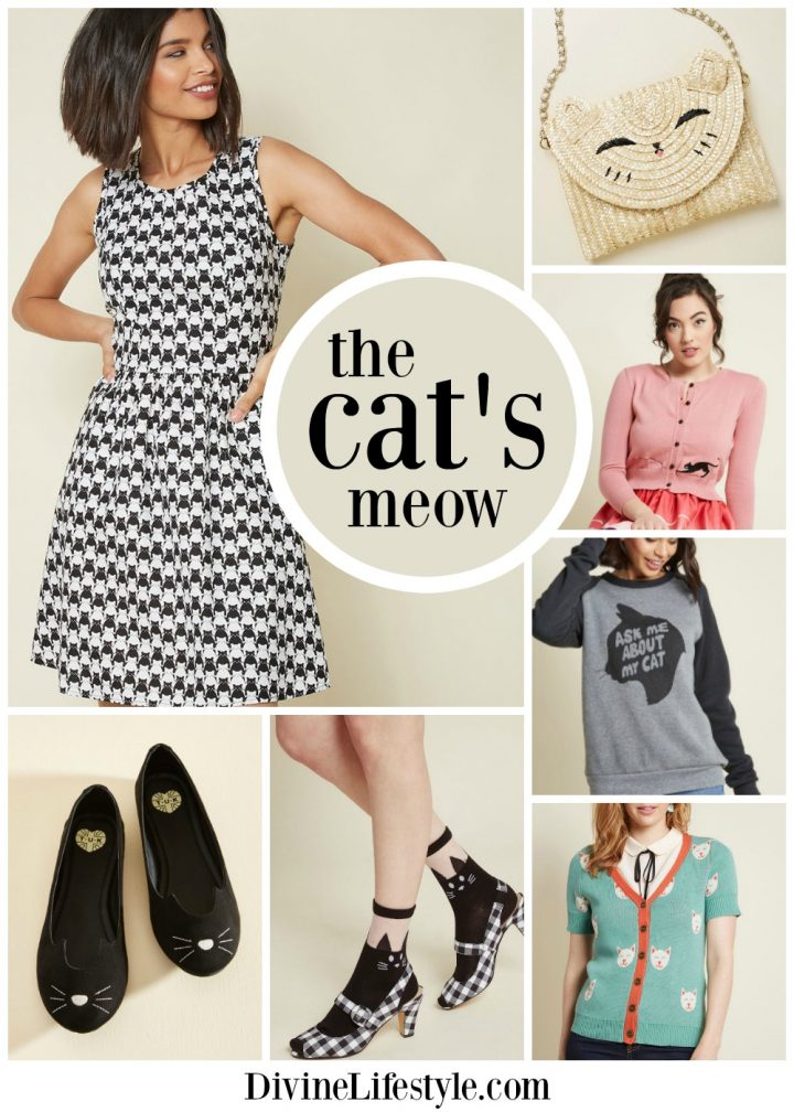 Cat Themed Clothing: Be the Cat's Meow