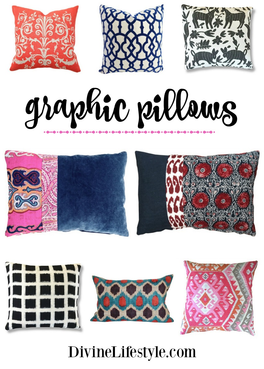 Graphic Pillows A Bold Addition To Your Decor Home Design
