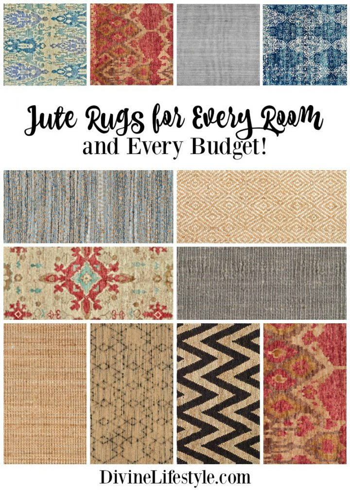 Jute Rugs for Every Room and Every Budget