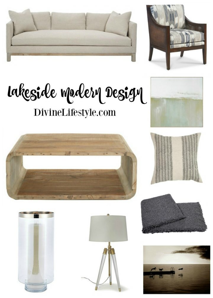 Lakeside Modern Design Pieces