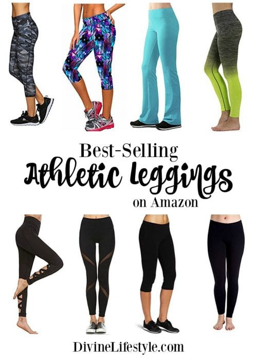 9351b37b225105 10 Best Selling Athletic Leggings on Amazon Fitness Apparel