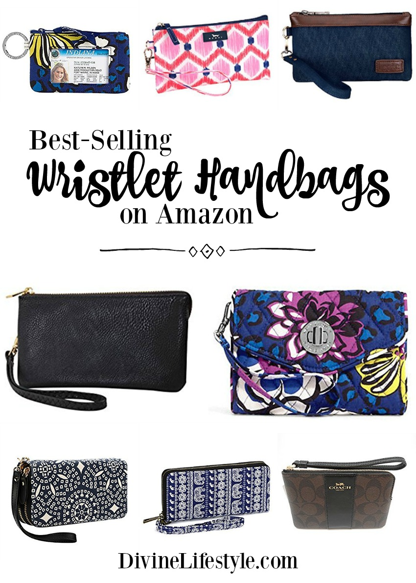 10 Best Selling Wristlet Handbags on Amazon