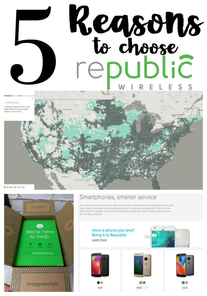 5 Reasons to Choose Republic Wireless #SentWithRepublicWireless