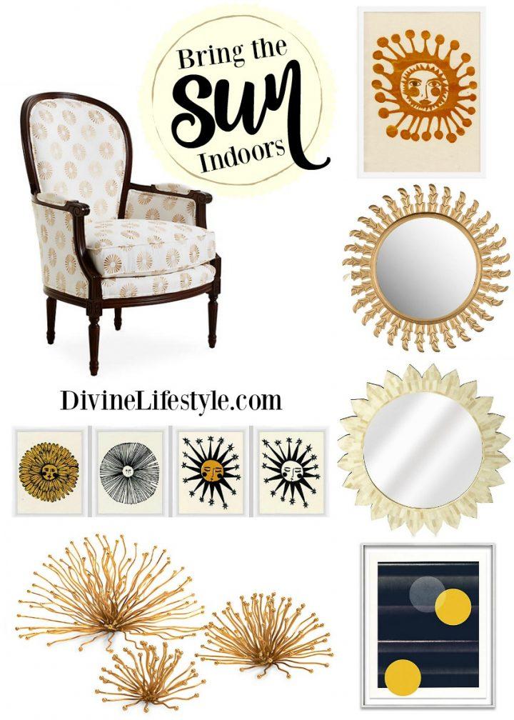 Sunburst Inspired Decor