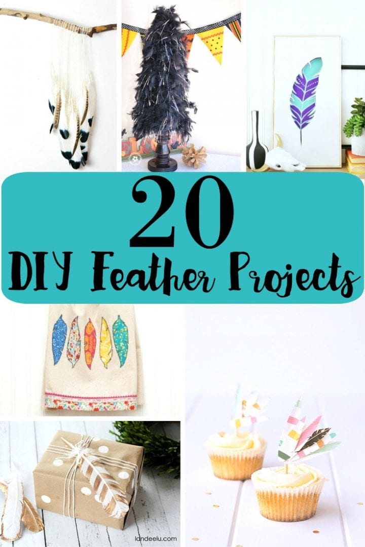 20 DIY Feather Craft Projects