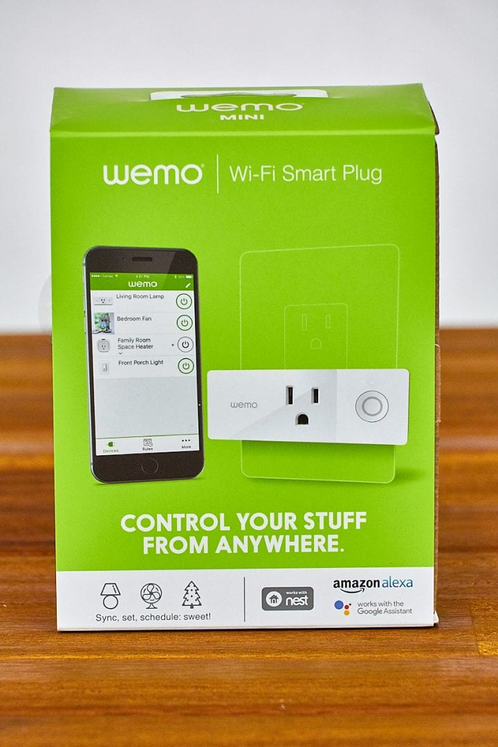 Connect at Home with Amazon Voice and Wemo Mini Wifi Smart Plug