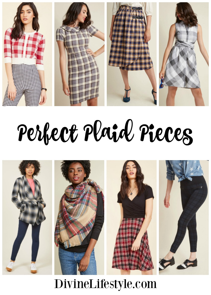 Perfect Plaid Pieces for Fall