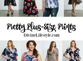 Pretty Plus-Size Prints