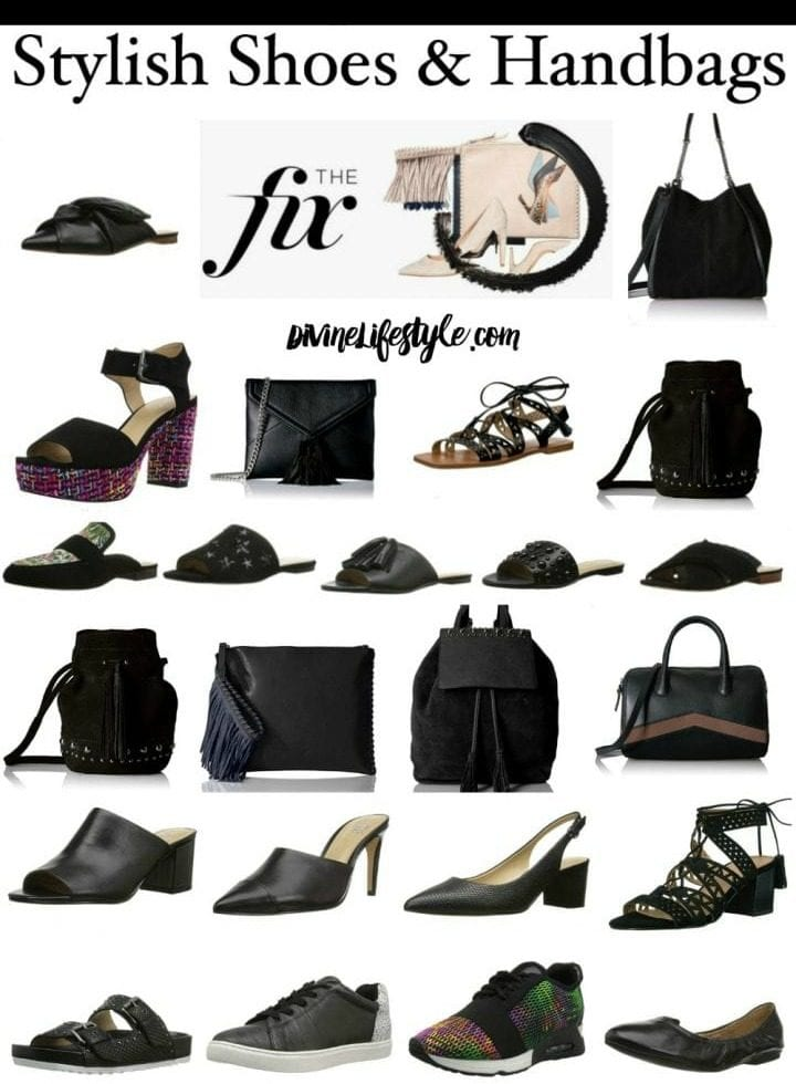Stylish Shoes and Handbags in Black from The Fix