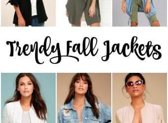 Trendy Fall Jackets for Women