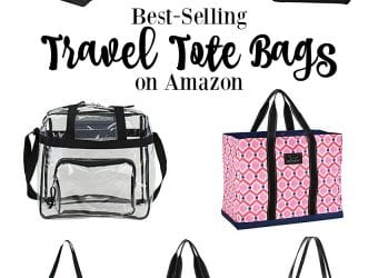 10 Best-Selling Travel Tote Bags on Amazon