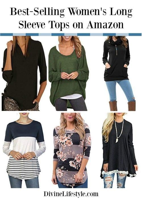 10 Best Selling Women S Long Sleeve Shirts Fashion Style Amazon