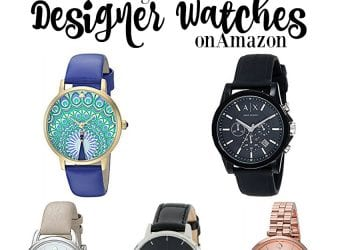 10 Best-Selling Women's Contemporary & Designer Watches on Amazon