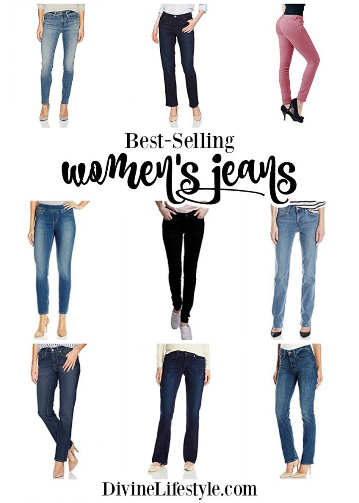 Best-Selling Jeans For Women Trendy Pants Clothes