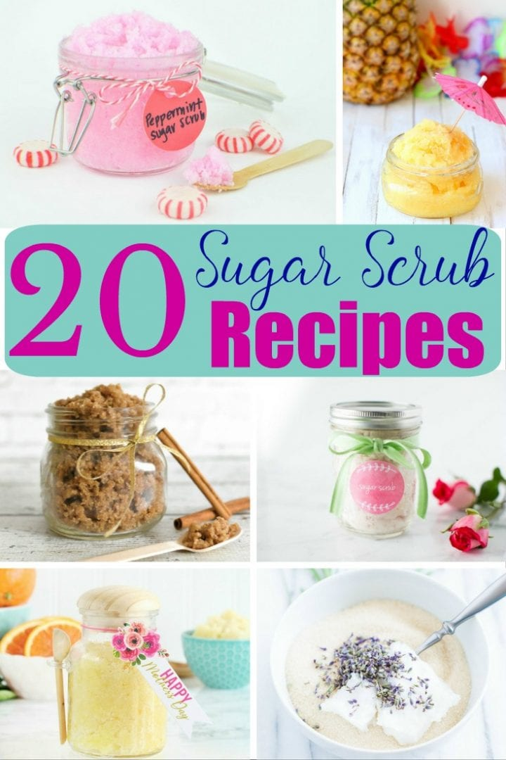 20 Easy Homemade Sugar Scrub Recipes
