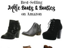 10 Best-Selling Women's Ankle Boots & Booties on Amazon