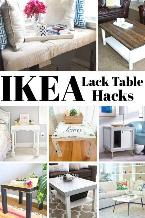 20 Diy Ikea Lack Table Hacks Home Decor Design