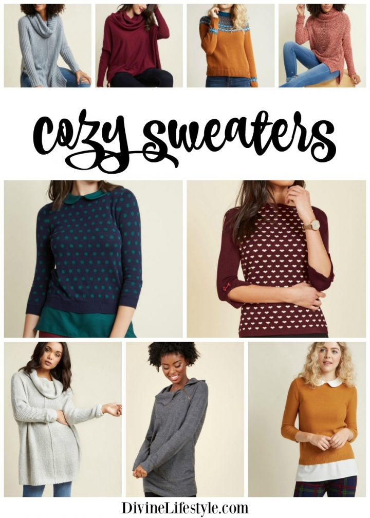 Cozy Knit Sweaters for Women