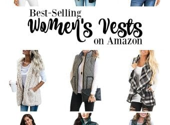 10 Best-Selling Women's Vests on Amazon