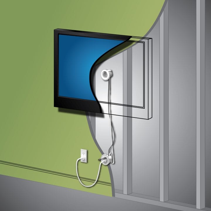 LeGrand In Wall TV Power Made Easy at Best Buy @LegrandNA