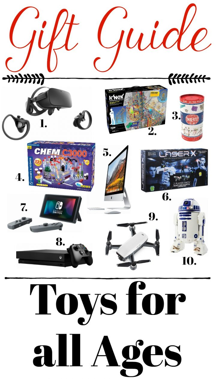 Toys For All : Gift guide toys for all ages nintendo xbox k nex dji laserx