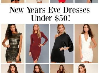 New Years Eve Dresses Under $50