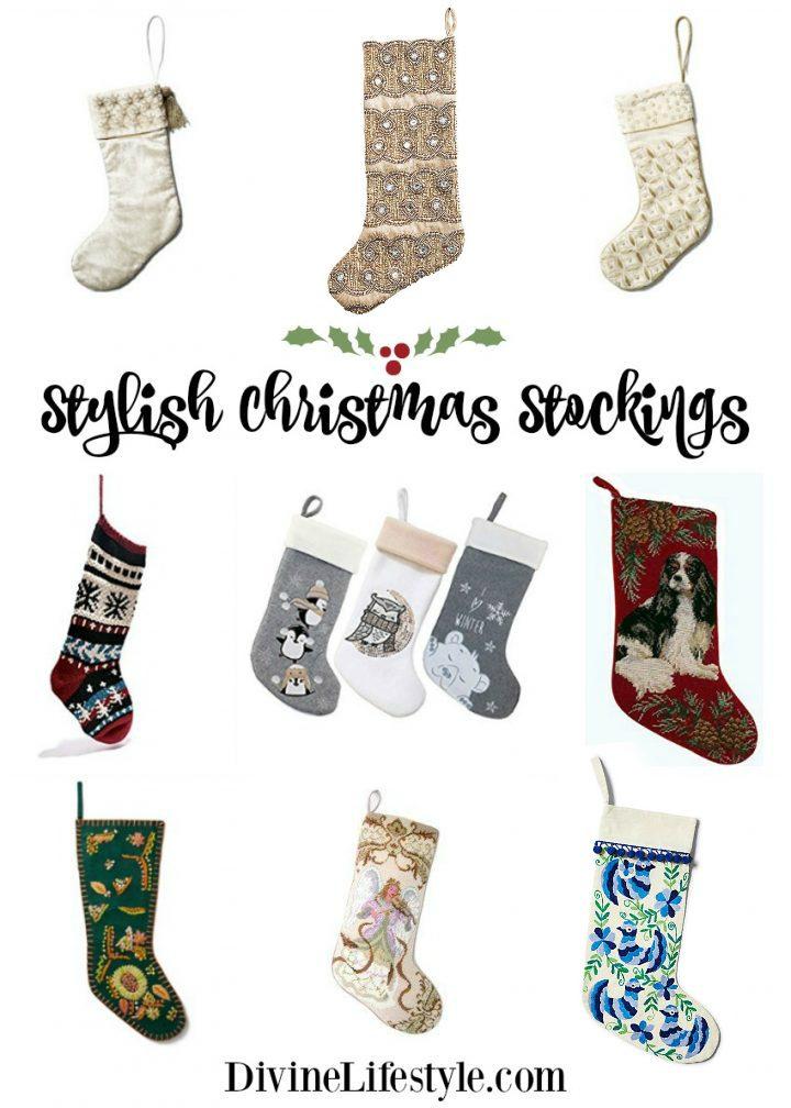Stylish Christmas Stockings