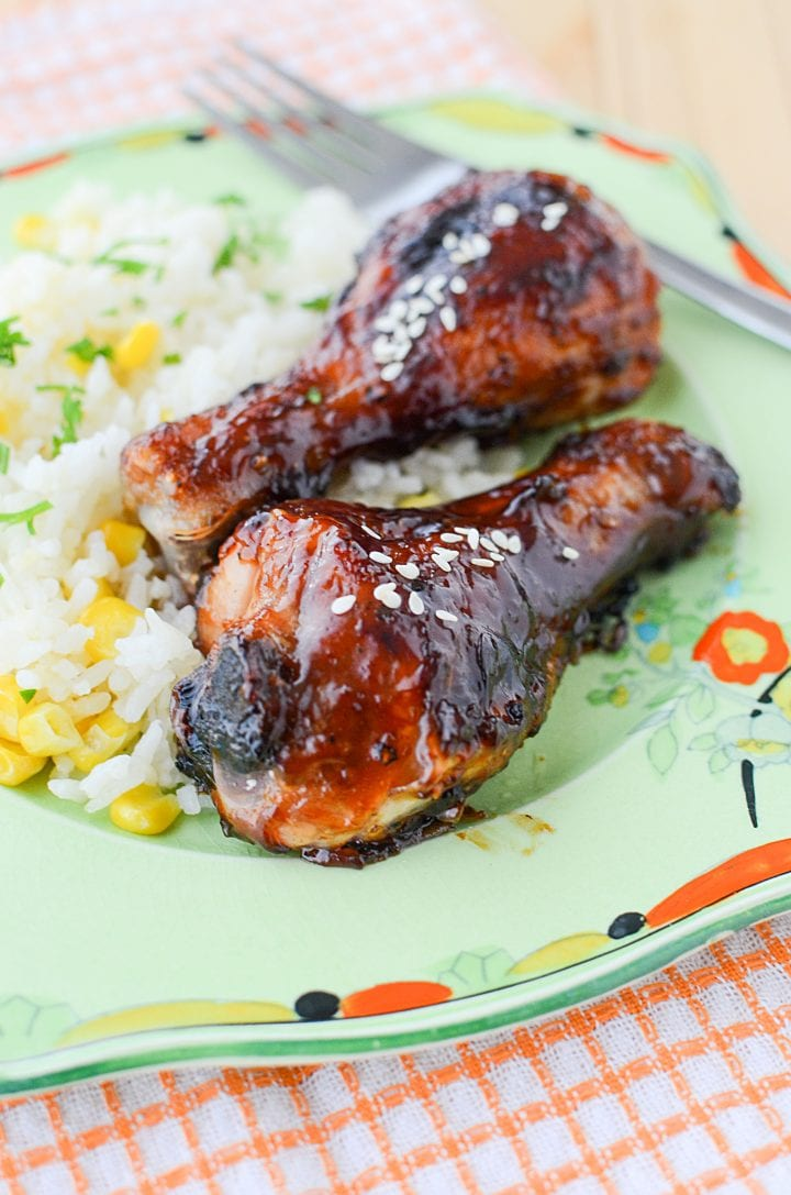Sweet and Sticky Chicken Drumsticks Recipe 1