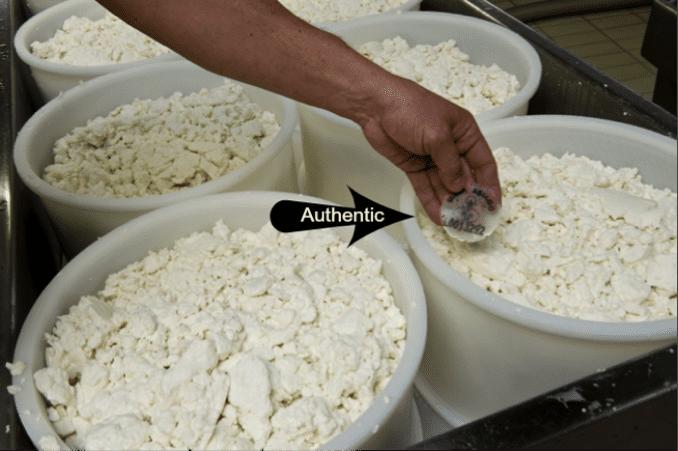 authentic Italian cheese