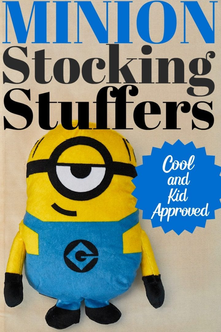 These Minion stocking stuffers are perfect for any child in your life.